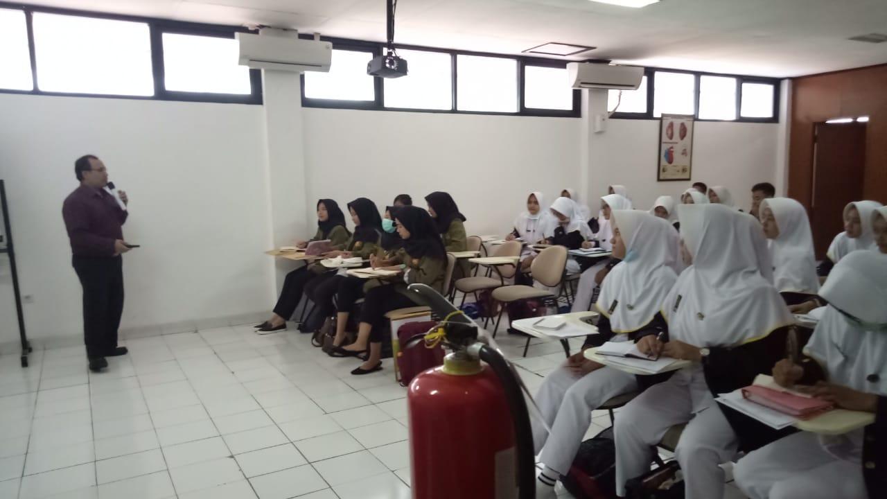 Pembekalan praktik RS PMI Bogor