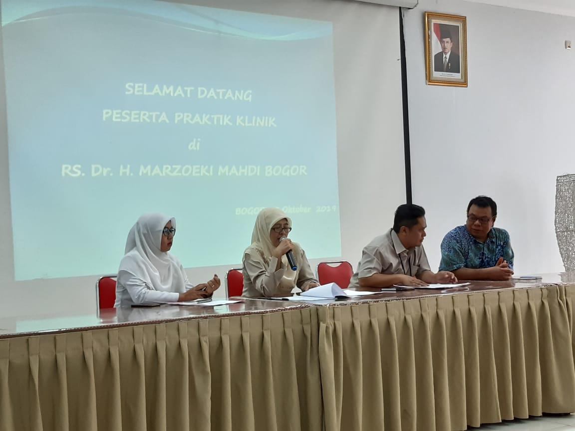 pembukaan praktek jiwa RSMM Bogor